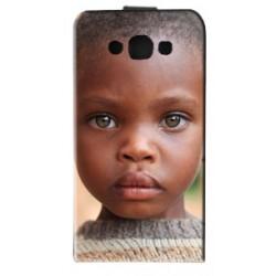 Housse verticale avec photo pour Samsung Galaxy E7