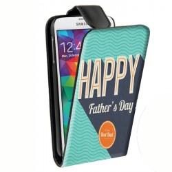 Housse verticale avec photo pour Samsung Galaxy S5