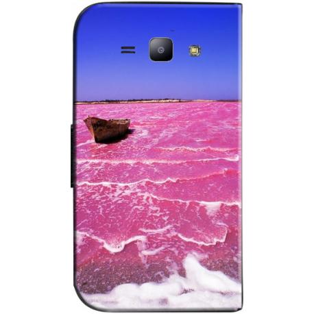 Housse portefeuille personnalisable Samsung Galaxy J1 2016