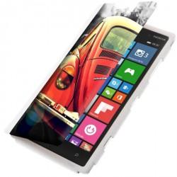 Etui housse portefeuille avec photo Microsoft Lumia 830