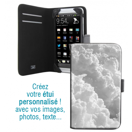 Housse portefeuille avec photo pour Samsung Galaxy Young 2