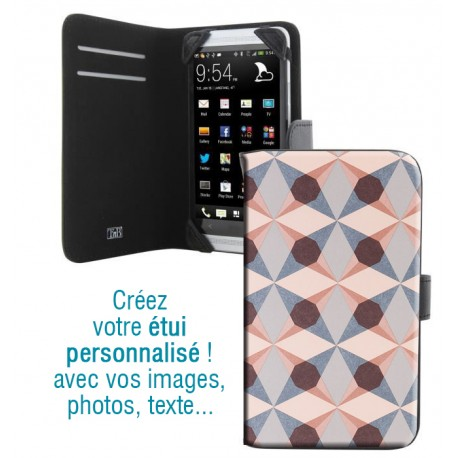 Housse portefeuille avec photo pour Samsung Galaxy S5 Mini