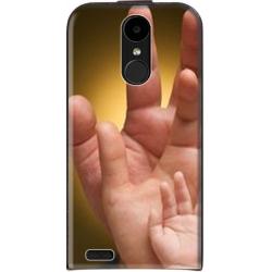 Housse verticale LG K10 2017 personnalisable