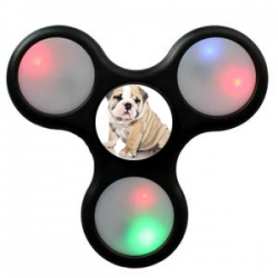 Hand spinner LED avec photo