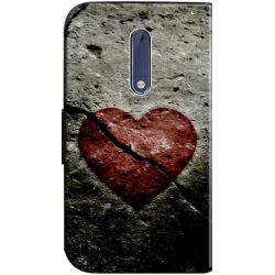 Housse portefeuille Nokia 5 personnalisable