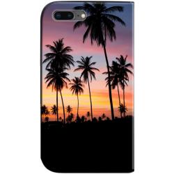 Housse portefeuille iPhone 8 Plus personnalisable Noir