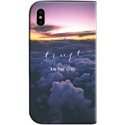 Housse portefeuille iPhone X personnalisable