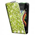 Housse verticale avec photo pour Nokia Asha 230