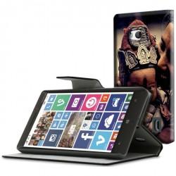 Etui housse portefeuille avec photo pour Microsoft Lumia 930