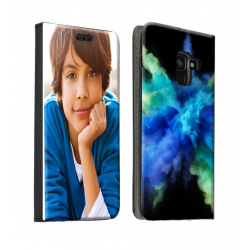 Housse portefeuille Samsung Galaxy A8 2018 personnalisable