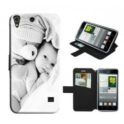 Etui housse portefeuille avec photo pour Huawei G620 S