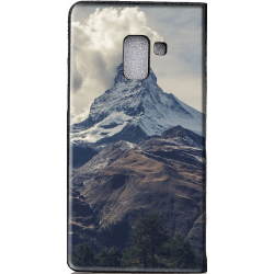 Housse portefeuille Samsung Galaxy A6 + 2018 personnalisable