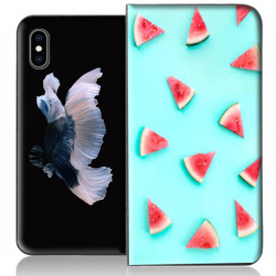 Housse portefeuille iPhone XS personnalisable