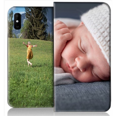 Housse portefeuille iPhone 12 personnalisable