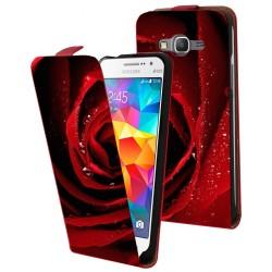 Etui housse verticale avec photo pour Samsung Galaxy Grand Prime