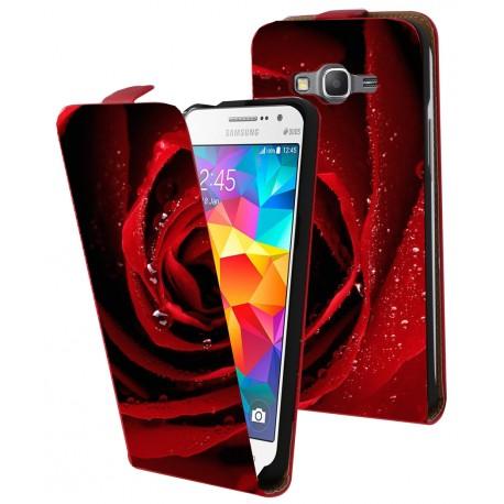 Housse verticale avec photo pour Samsung Galaxy Grand Prime