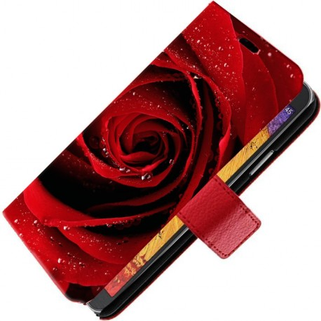 Housse portefeuille avec photo pour Samsung Galaxy Note 3 Lite