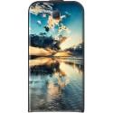 Housse verticale avec photo Samsung Galaxy J5