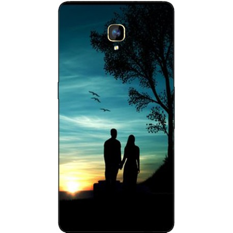 Coque avec photo Orange Fova