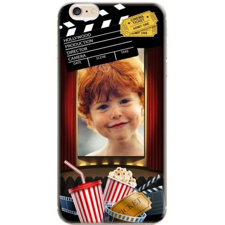 Coque avec photo iPhone 6 / iPhone 6S Décor Cinéma