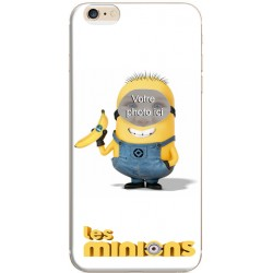 Coque iPhone 6/6S avec photo montage Les Minions