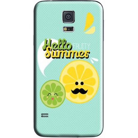 Coque avec photo pous Samsung Galaxy S5 New
