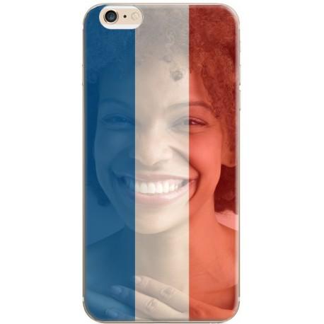 Coque avec photo montage drapeau français pour iPhone 6 / 6S
