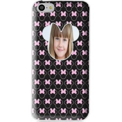 Coque avec photo iPhone 5C Minnie à personnaliser