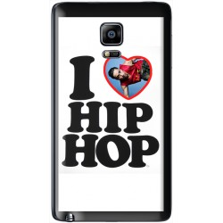Coque avec photo Samsung Galaxy Note Edge I Love Hip Hop
