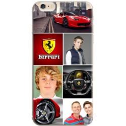 Coque personnalisable mosaïque Ferrari pour iPhone 6/6S