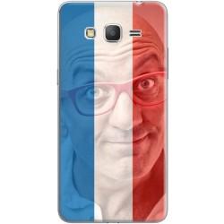 Coque avec filtre drapeau tricolore personnalisable Samsung Galaxy Core Prime