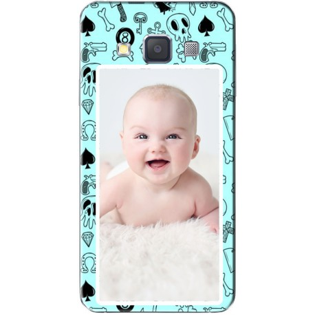 Coque avec photo Pirate Blue Samsung Galaxy A3