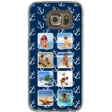 Coque décor Blue Marine personnalisable Samsung Galaxy S6 Edge