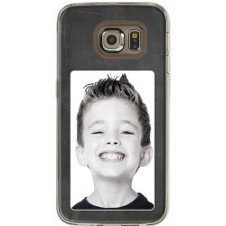 Coque avec photo fond tableau noir Samsung Galaxy S6 Edge
