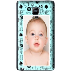 Coque avec photo fond Pirate Blue Samsung Galaxy Note Edge